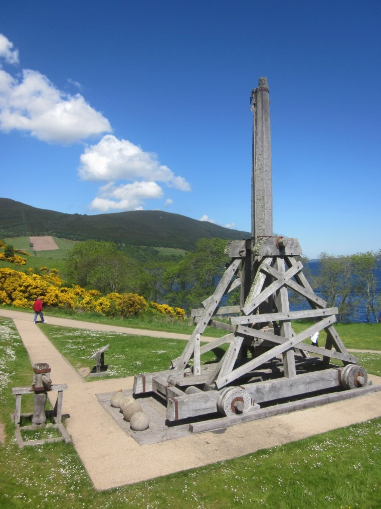 Trebuchet at the Loch Ness