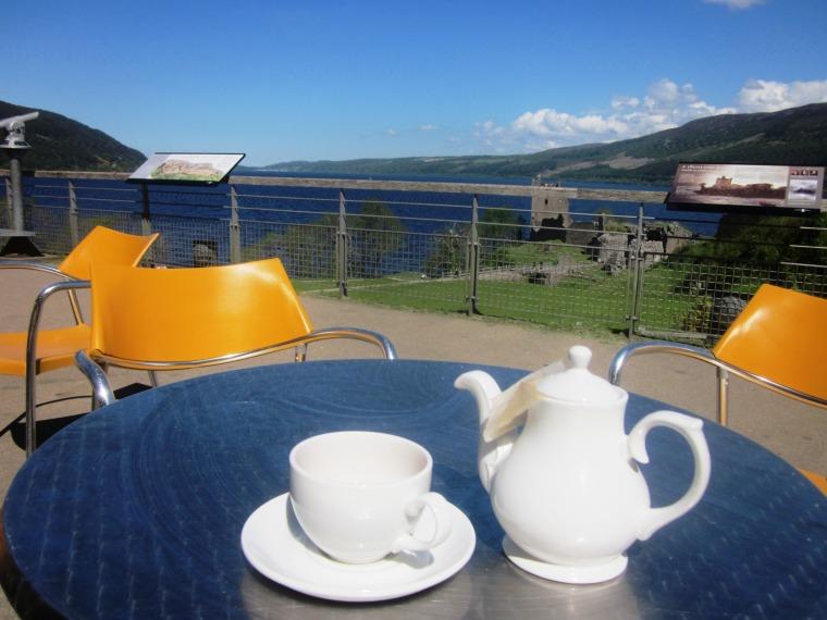 Tea at Loch Ness
