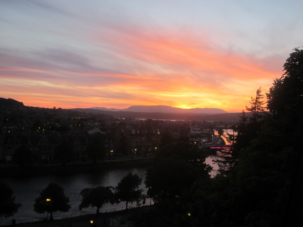 Sunset at Inverness