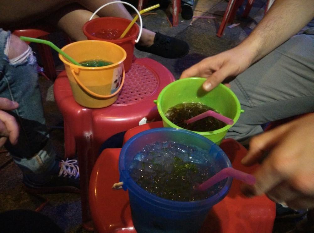 Bucket Cocktails