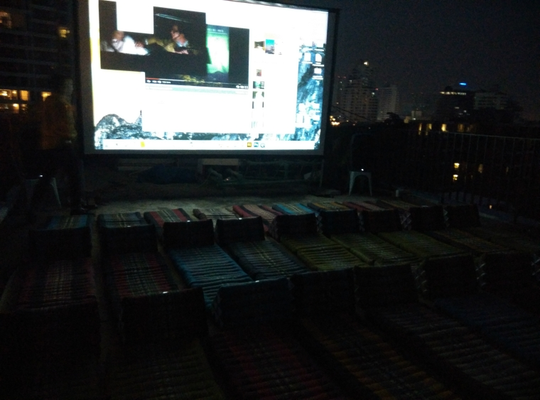 Open Air Cinema Bangkok