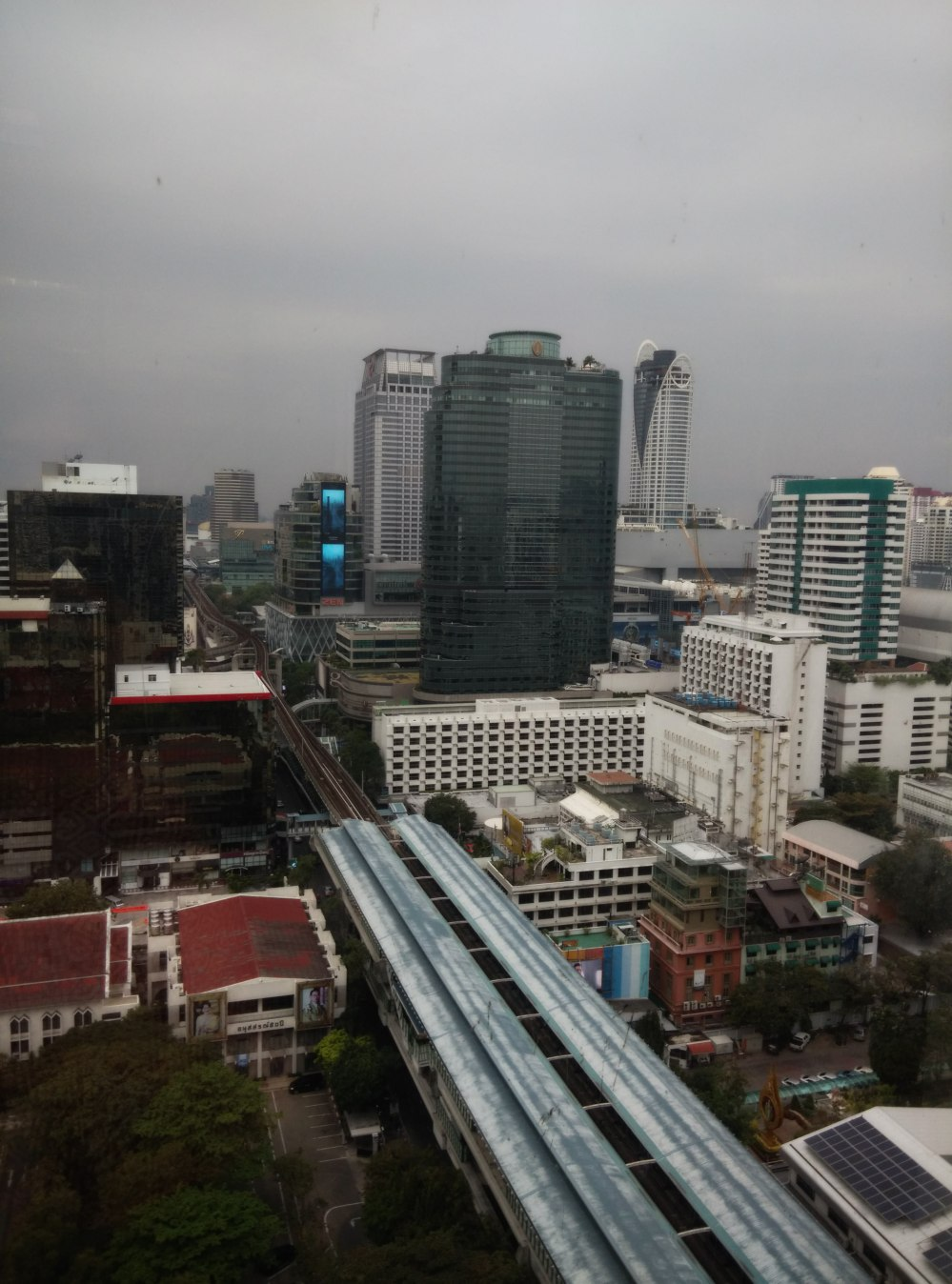 Bangkok Skyline Freezing