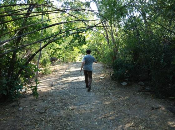 Hiking at Hua Hin