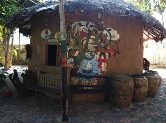 Hut at Baan Sillapin Artists Village