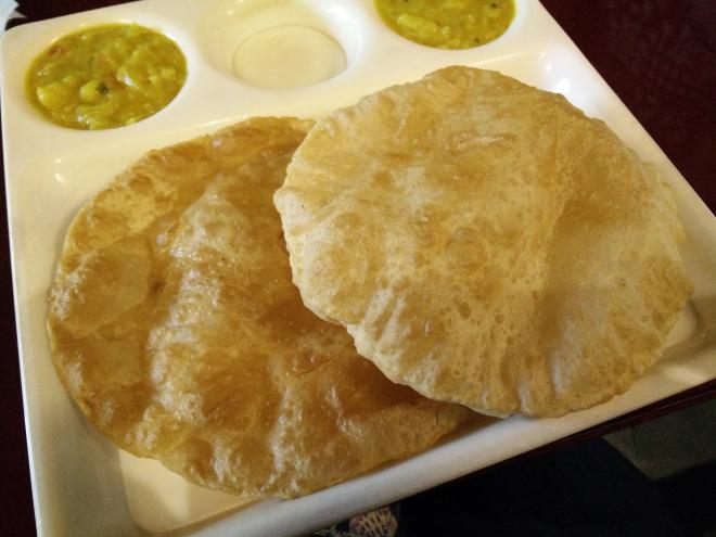 Poori-masala
