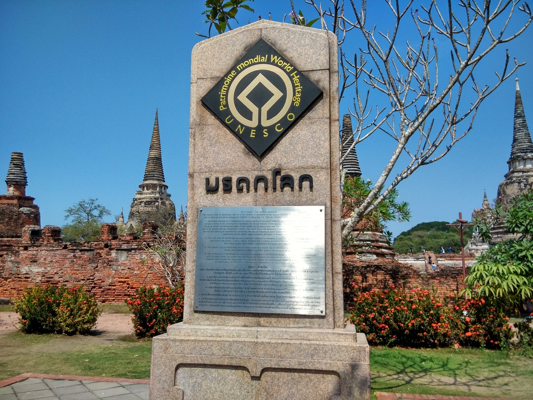 Ayutthaya UNESCO Heritage Site