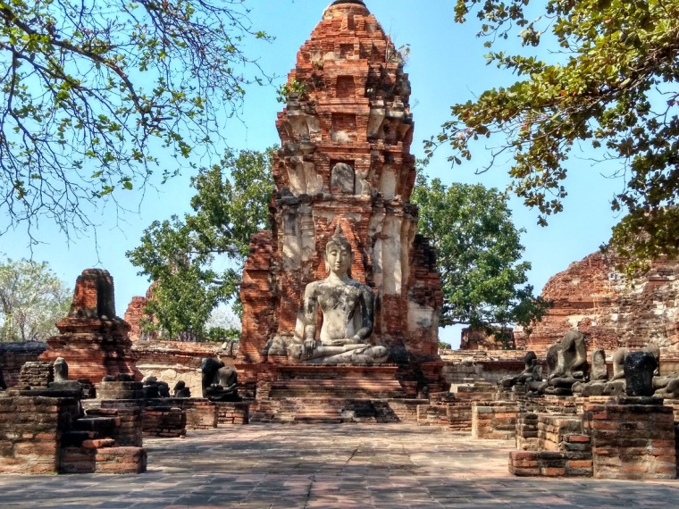 Wat Mahatat Ayutthaya Historical Park