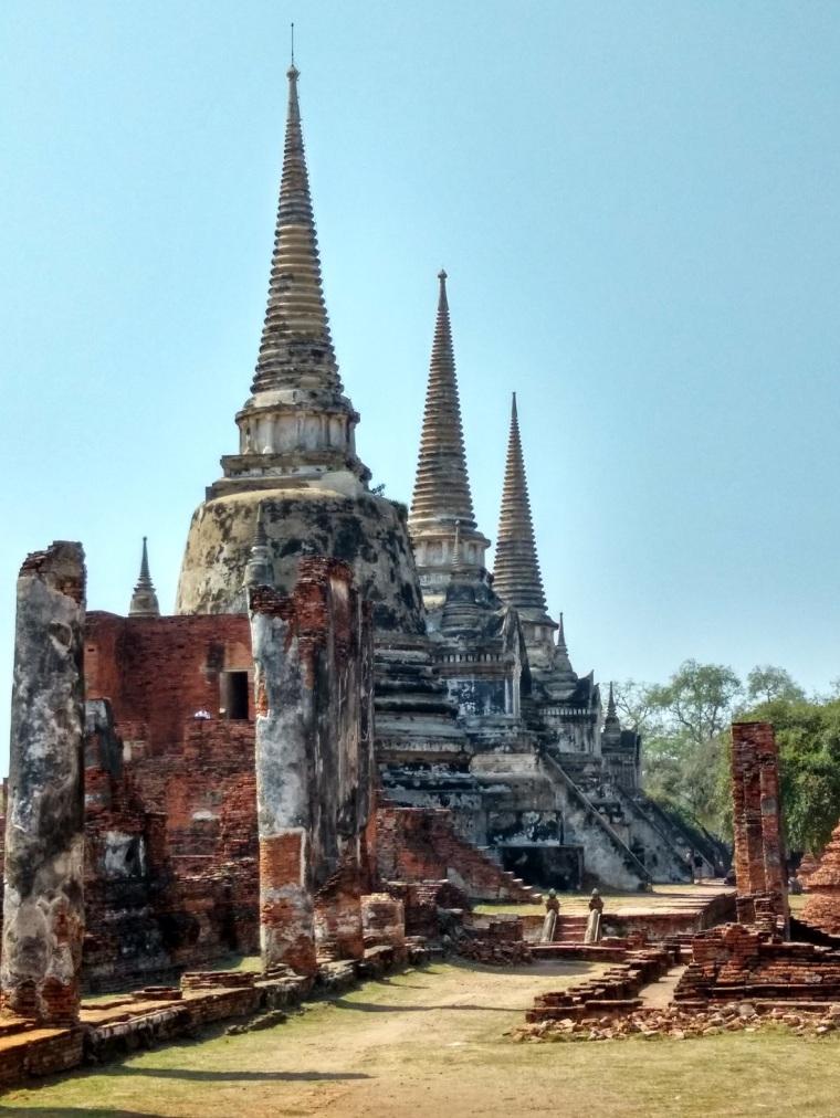 Wat Phra Si Sanphet Ayutthaya Historical Park