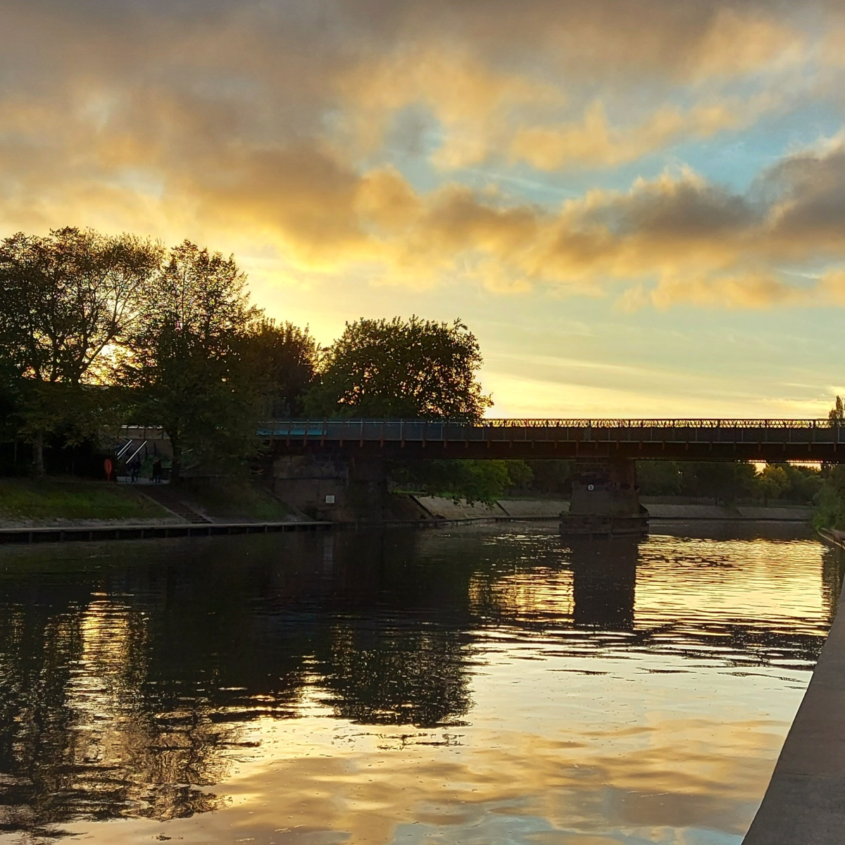 River Ouse, York, UK, October 2020